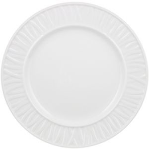 "Vertex China GV-16-W-B Grass Valley Plate Blueberry 10-5/8""-1 doz"