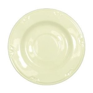 "Vertex China KF-2-PN-TC Kentfield Saucer with Pendant Terra Cotta Pattern 5.75""- 3 doz"