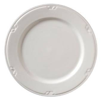 "Vertex China KF-8 Kentfield Plate Undecorated 9""- 2 doz"