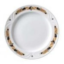 "Vertex China PA-6-NV Palm Nappa Valley Plate  6.5""- 3 doz"