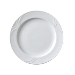 "Vertex China PA-8-NV Palm Nappa Valley Plate  9.25""- 2 doz"