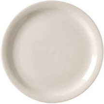 Vertex China RNR-16 10-1/2'' Narrow Rim Plate - 1 doz