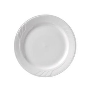 Vertex China SAU-8-SO-BD Sausalito Plate, Solo Burgundy Pattern 9