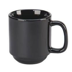 Vertex China SM-BK Vista 10 Oz. Summit Mug - 3 doz