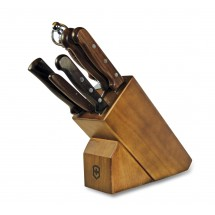Victorinox 46054 7 Piece Knife Block Set with Rosewood Handles