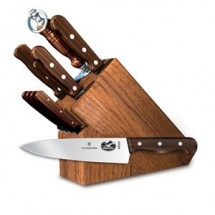Victorinox 46153 11 Piece Knife Block Set with Rosewood Handles