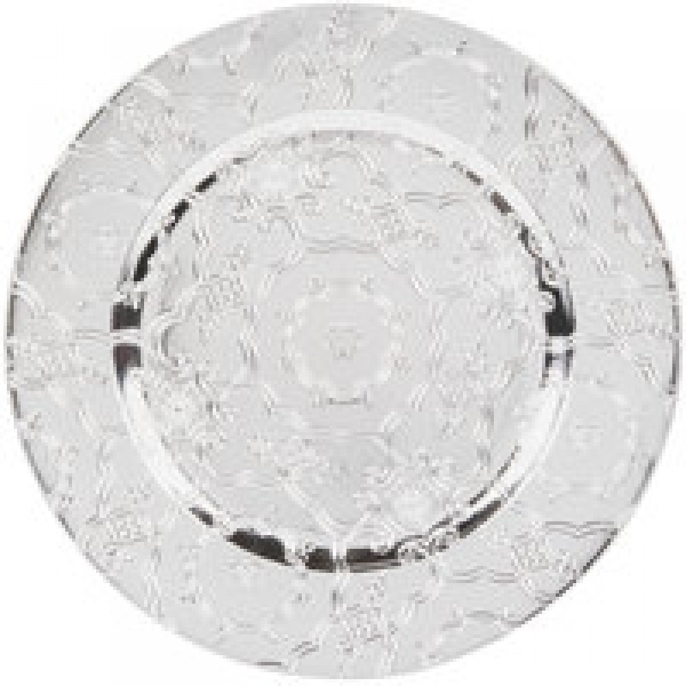 Vintage Silver  Charger Plates 13""