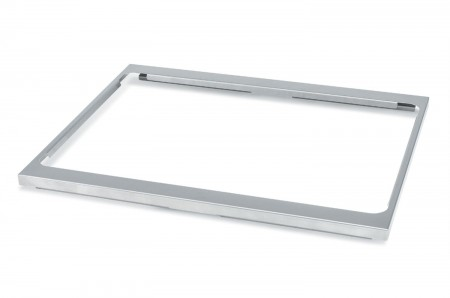 Vollrath 19186 Stainless Steel Two Hot Well Sheet Pan Adapter Plate for Drop-Ins