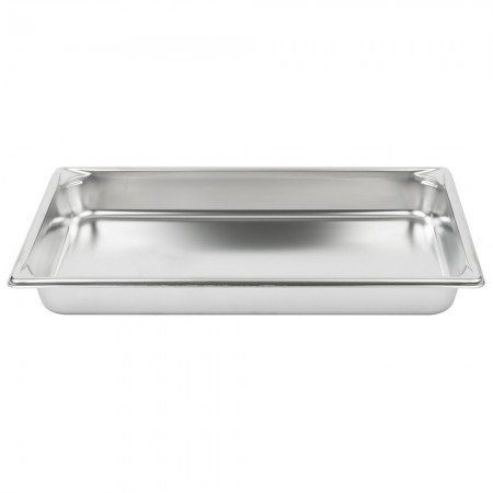 Vollrath 30022 Full Size Anti-Jam Stainless Steel Steam Table Pan 2 1/2