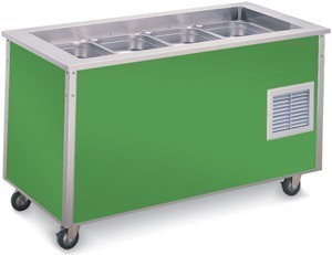 Vollrath 36146 Signature Server Refrigerated Cold Food Bar 46""