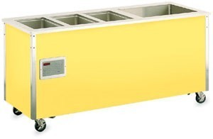 "Vollrath 36195 Signature Server Hot / Refrigerated Food Station 74"" x 30"""