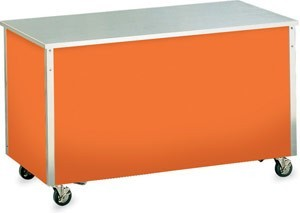 """Vollrath 36221 Signature Server Utility Station with Stainless Steel Countertop 46"""" x 27"""""""