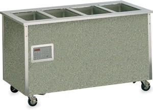 Vollrath 36240 Signature Server 4-Well Hot Food Base with Touch-Temp Panel