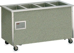 Vollrath 36250 27x 74 x 28  Signature Server Hot Food Base w/Touch-Temp Panel, 5-Wells