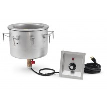 Vollrath 3646210 Stainless Steel Modular Drop-in Soup Well