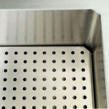 """Vollrath 36915-2 Perforated False Bottom for Cold Food Pan Station 60"""""""
