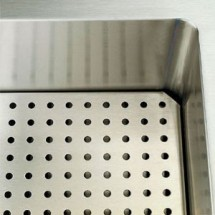 """Vollrath 36916-2 Perforated False Bottom for Cold Food Pan Station 74"""""""