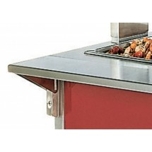 """Vollrath 37511-2 Signature Server Plate Shelf with Mounting Kit 28"""""""