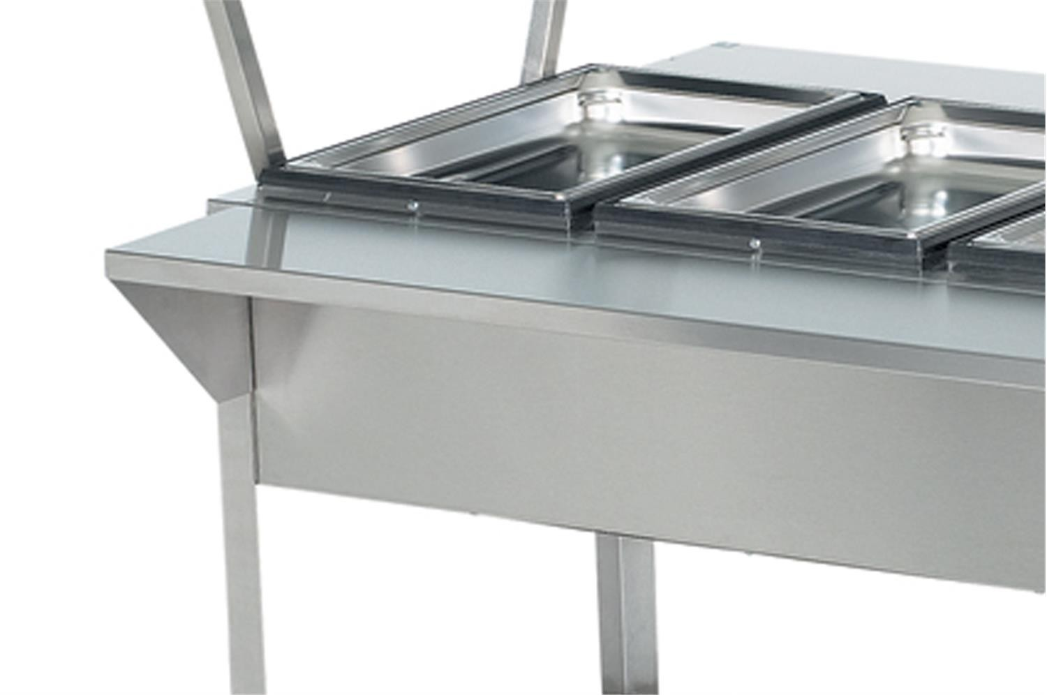 Vollrath 38092 Stainless Steel Plate Rest 32