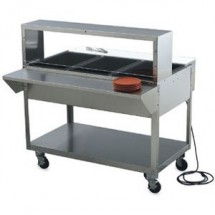 """Vollrath 38093 Plate Shelf for Vollrath ServeWell 3 Well / Pan Hot or Cold Food Tables 46-1/2"""""""