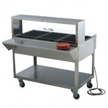 """Vollrath 38094 Plate Shelf for Vollrath ServeWell 4 Well / Pan Hot or Cold Food Tables 61-1/4"""""""