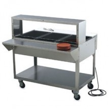 """Vollrath 38095 Plate Shelf for Vollrath ServeWell 5 Well / Pan Hot or Cold Food Tables 76"""""""