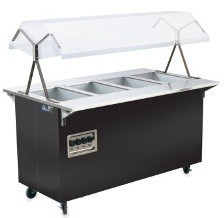Vollrath 39946 Tray Slide W / Fold Down Brackets