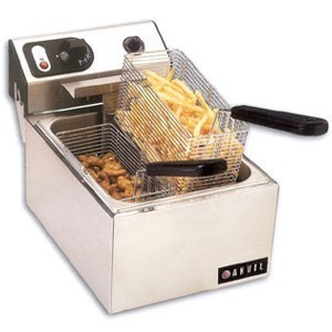 Vollrath 40706 Electric Single Countertop Fryer With 2.5 kw 220V