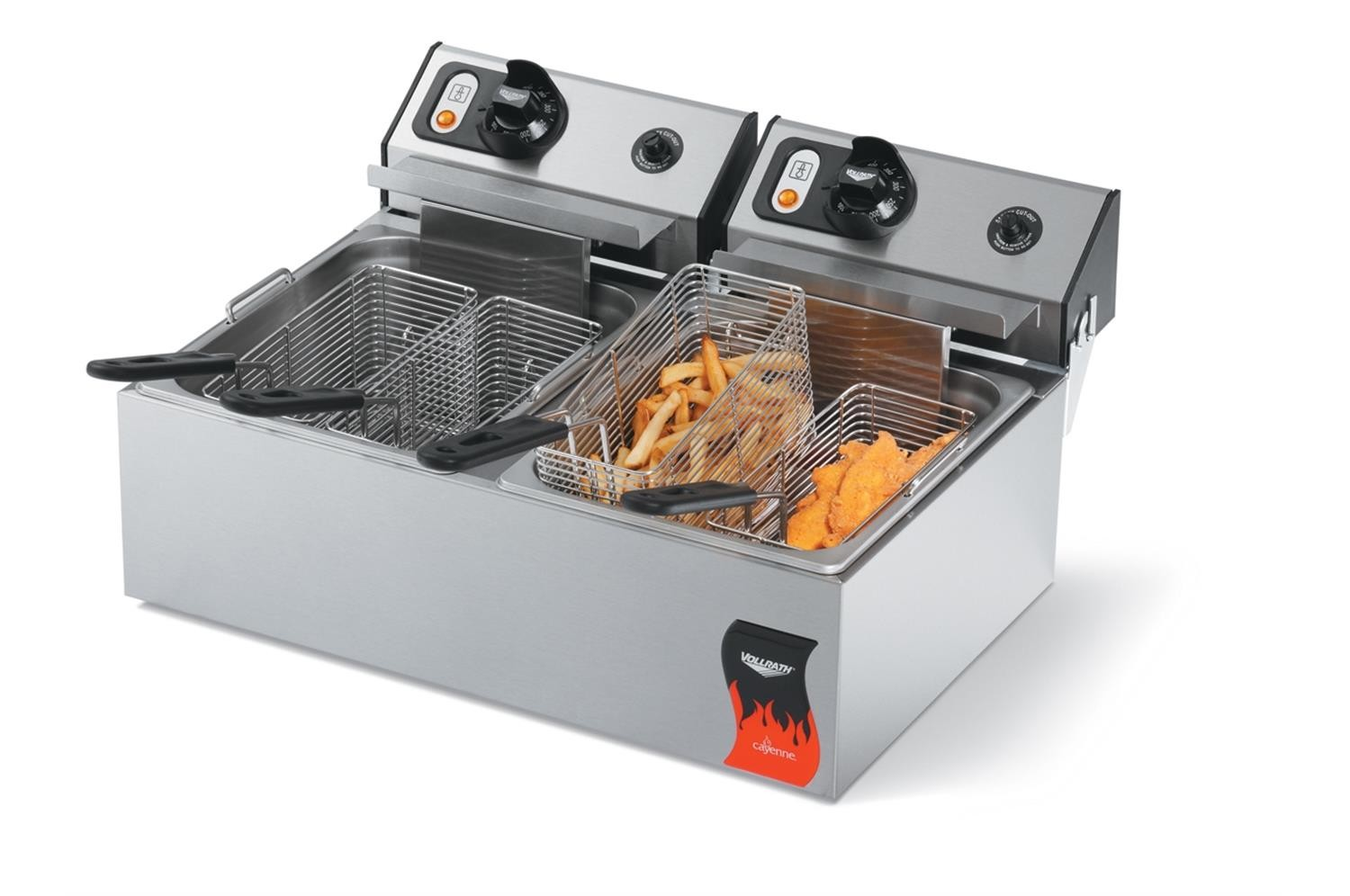 Vollrath 40707 Countertop Electric Fryer With 1.8 kw 110 V