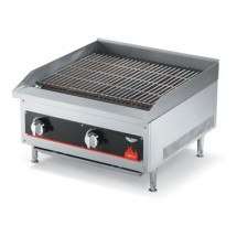 Vollrath 407302 Cayenne Radiant / Lava Rock Charbroiler 24""