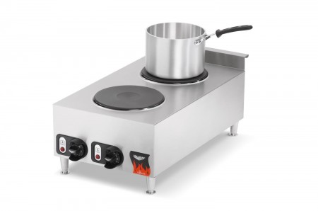 Vollrath 40739 Cayenne 2 Burner Counter Top Electric Hot Plate