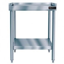 "Vollrath 40741 Stainless Steel Standard Duty Equipment Stand with Galvanized Undershelf 36"" x 24"""