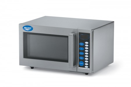 Vollrath 40819 Stainless Steel Commercial Microwave Oven with Digital Controls