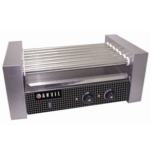 Vollrath 40821 18 Hot Dog Roller Grill with 7 Rollers