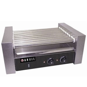 Vollrath 40822 24 Hot Dog Roller Grill with 9 Rollers