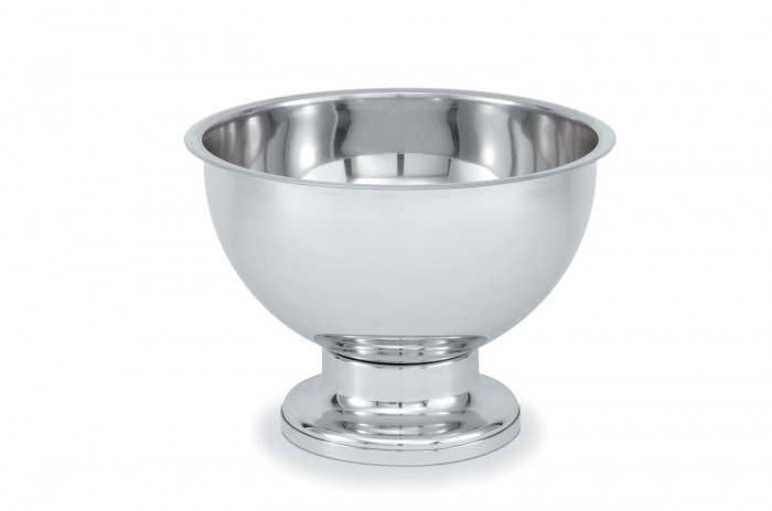 Vollrath 46072 New York, New York Stainless Steel Punch Bowl 5 Gallon