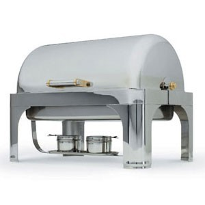 Vollrath 46084 Oblong Dome Cover for New York New York Chafer 9 Qt.