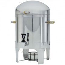 Vollrath 46093 New York, New York Coffee Urn with Brass Trim 3 Gallon