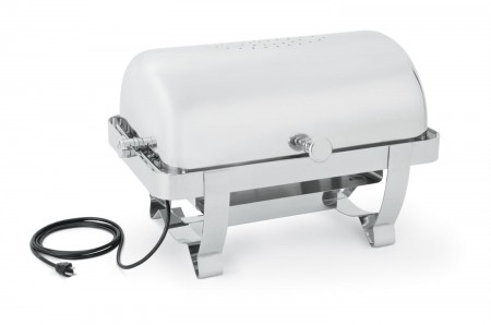 Vollrath 46529 Full Size Orion Retractable Electric Chafer 9 Qt.
