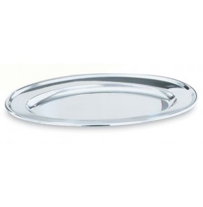 Vollrath 47234 Stainless Steel Oval Tray