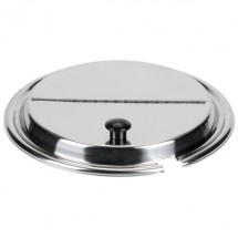 """Vollrath 47486 Kool Touch® Stainless Steel Hinged Cover 7-1/2"""""""