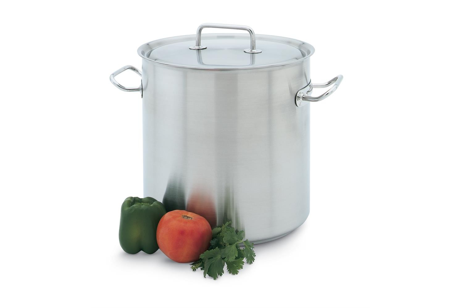 Vollrath 47720 Intrigue Stainless Steel Stock Pot 6-1/2 Qt.