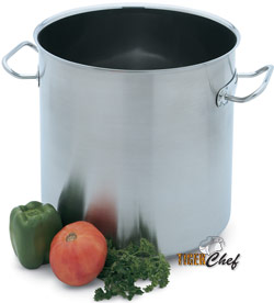 Vollrath 47724 Intrigue Stainless Steel Stock Pot 38 Qt.