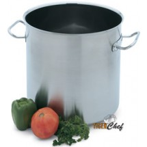 Vollrath 47725 Intrigue Stainless Steel Stock Pot 53 Qt