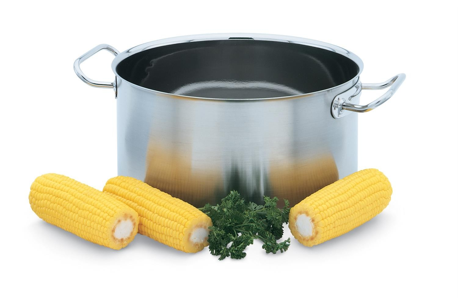 Vollrath 47730 Intrigue Stainless Steel Sauce Pot 7 Qt.