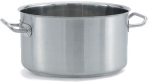 Vollrath 47733 Intrigue Stainless Steel Sauce Pot 17 Qt.