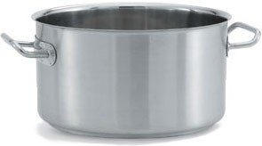 Vollrath 47734 Intrigue Stainless Steel Sauce Pot 24 Qt.