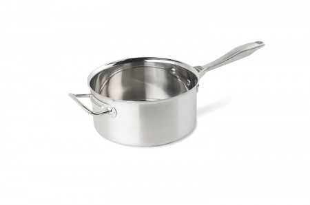 Vollrath 47742 Intrigue Stainless Steel Sauce Pan 4.25 Qt.