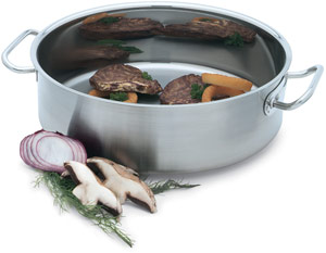 Vollrath 47761 Intrigue 18 Qt Stainless Steel Brazier