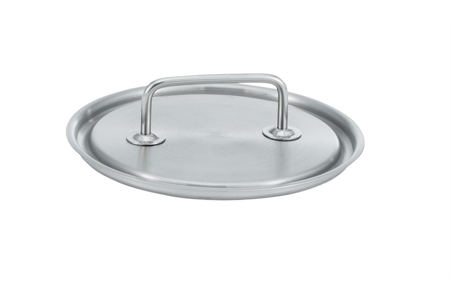 Vollrath 47772 Intrigue Stainless Steel Sauce Pan Cover 8-9/16""
